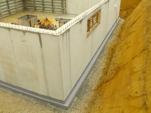 Keller aus Beton