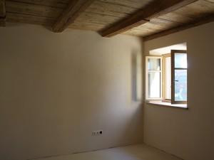 Zimmer mit Lehmputz