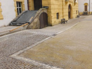 Schloss Ellingen - Pflasterarbeiten